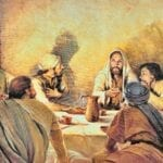 The Eucharist and the last super with Jesus