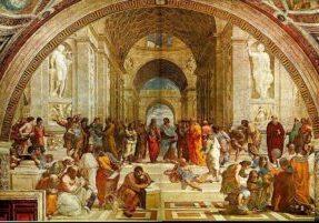 Raphael's School of Athens Photo by joyofmuseums.com